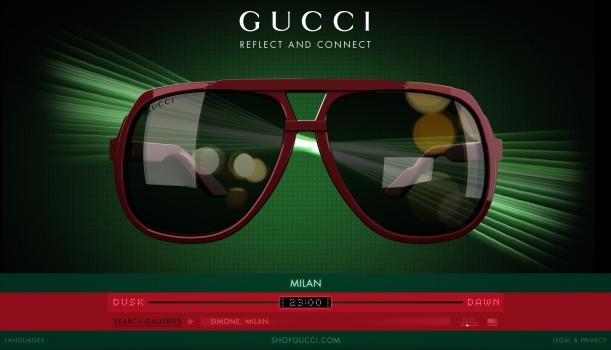 Eco-Friendly солнцезащитные очки от Gucci. 26ff9598e2e59