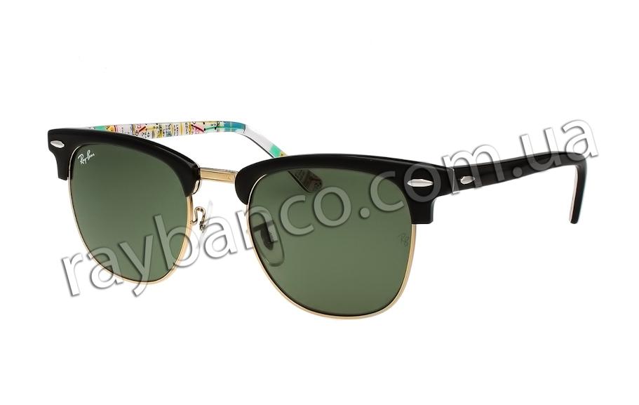 e854784955c7 Солнцезащитные очки Ray Ban Clubmaster Rare Prints, 3016 - 1028 ...